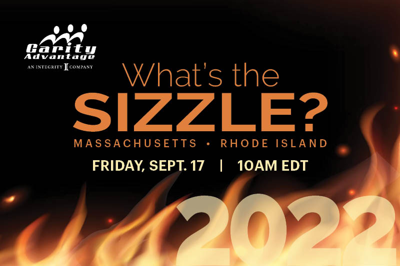 Whats the Sizzle? MA, RI 9/17 10am