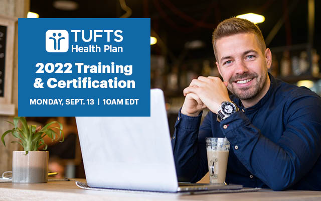 Tufts 2022 Training and certifications 9/3 10am EDT