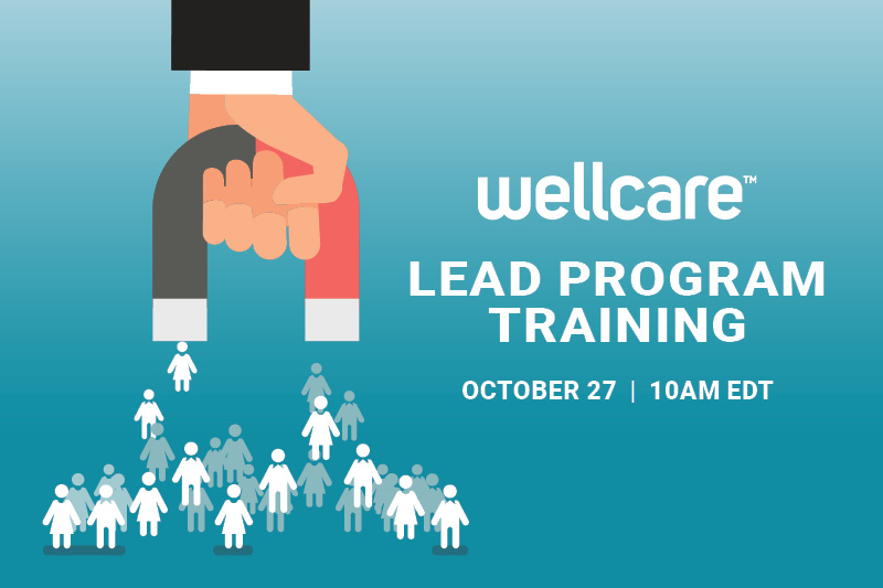 Wellcare lead program training 10/27 10AM