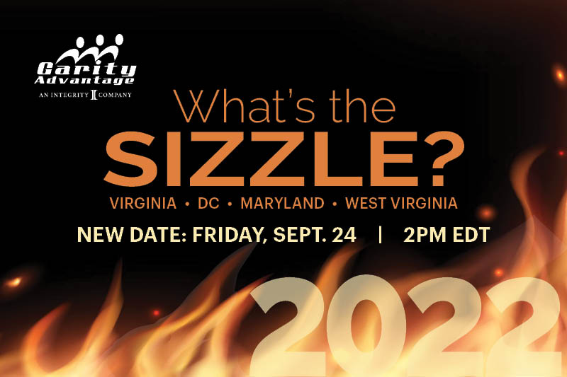 New Date: Whats the Sizzle? VA, MD, DC 9/24 2pm