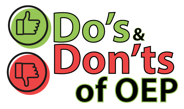 Do's and Dont's OEP