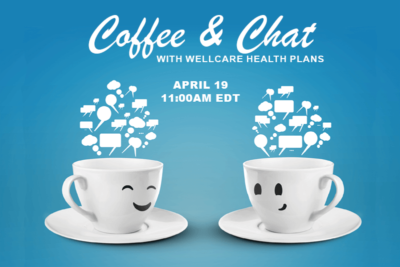 Coffee and Chat with Susan Young April 19 11am