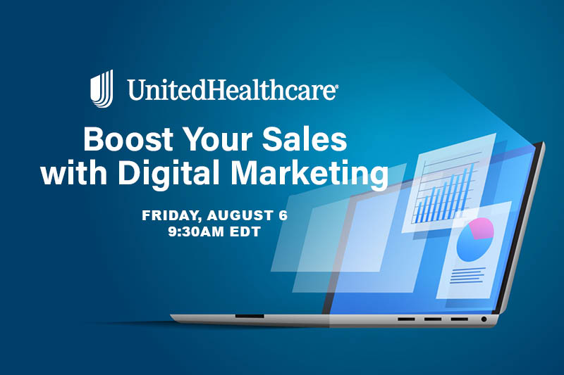 Boost your sales with digital marketing Aug. 6 9:30 am EDT