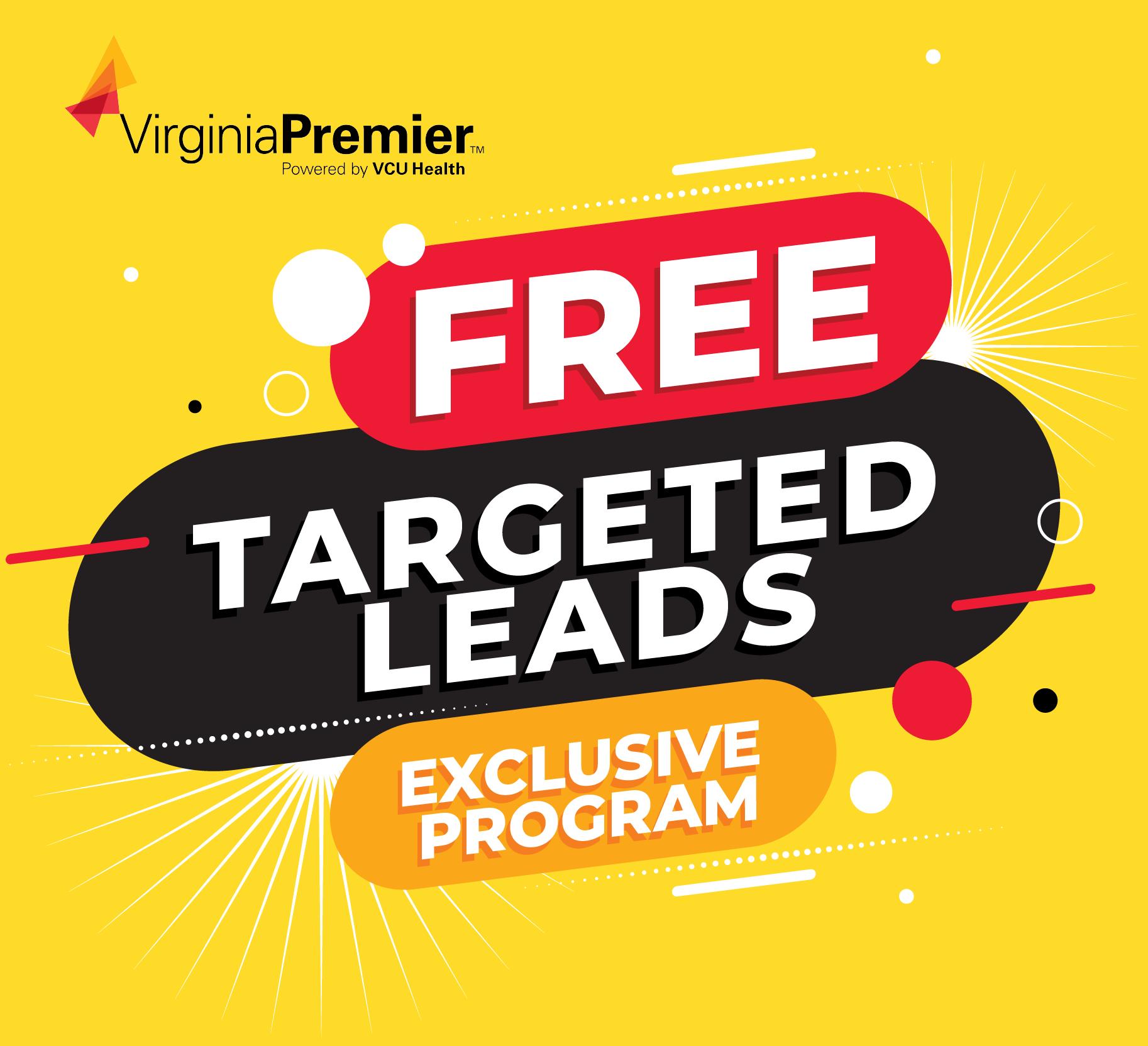 Virginia Premier Free targeted leads exclusive