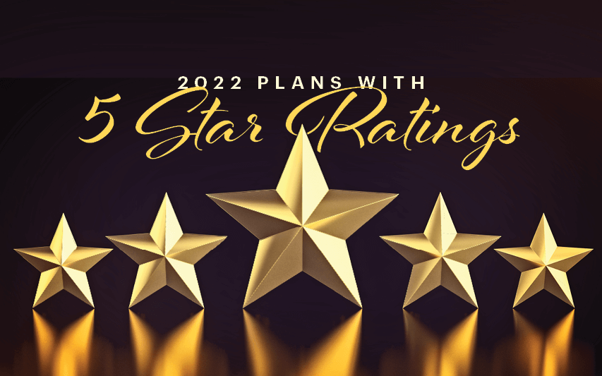 2022 plans with 5 star ratings